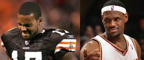 Lebron James Trades Braylon Edwards